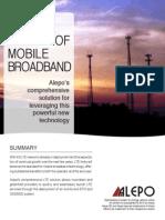 Alepo LTE Solutions