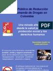 ABORDAJE PARA EL CONSUMO DE DROGAS