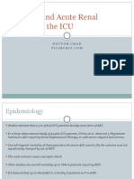 Acute Renal Failure in the ICU PulmCrit