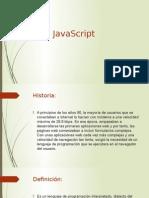 JavaScript Presentacion