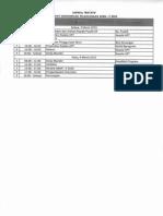Jadwal Pertemuan 3-4 Maret 2015