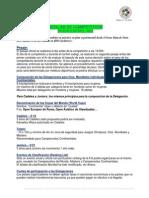 Reglas FIJ Competición, Arbitraje y Ranking