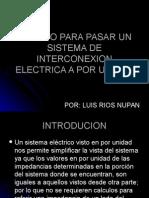 Metodo Para Pasar Un Sistema de Interconexion Electrica