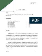 1.Verification of Basic Logic Gates
