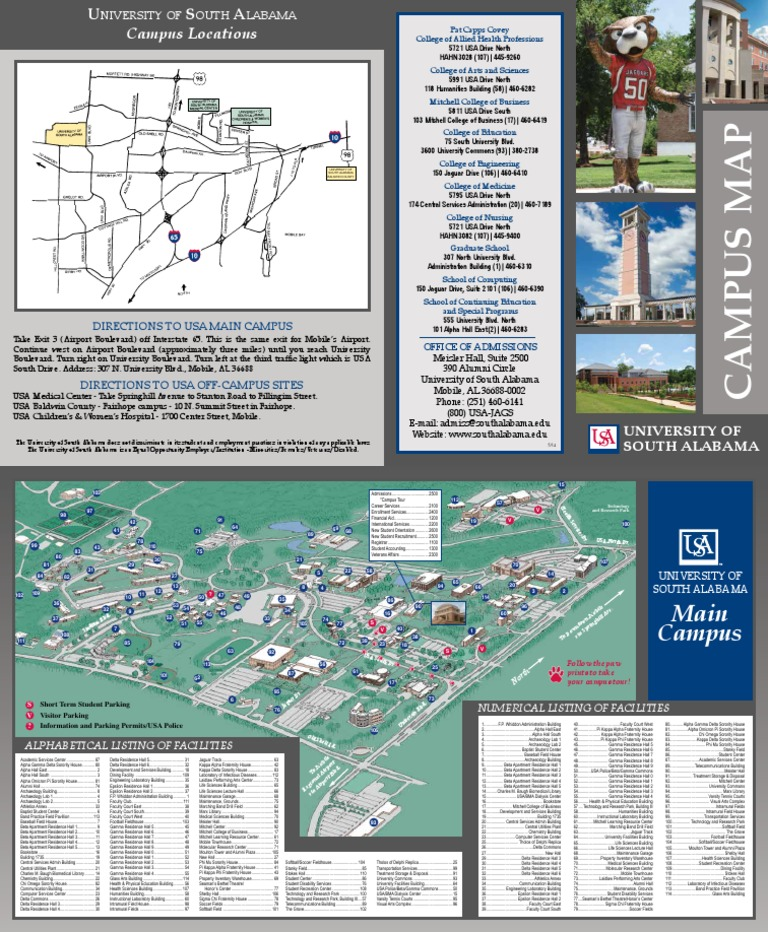 Campus Map Alabama | Fraternities And Sororities | Sex Segregation