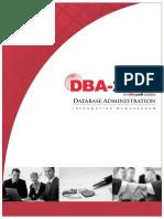 DBA Info Memo