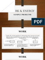 2-Work & Energy (Problems)