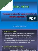 LP-Testarea Produselor Agroalimentare