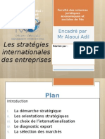 Expo Stratégies Internationales Des Entreprises