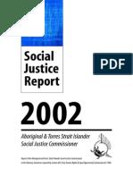 Social Justice Report 2002