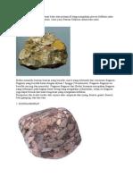 Contoh Batuan Sedimen Dan Gambar