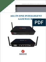 Enterprise ALL in ONE Intelligent Gateway BG900XWG Brochure V220120913