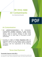 29 CFR 1910.1000 - Air Contaminants