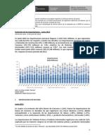Reporte de Importaciones - Junio 2013