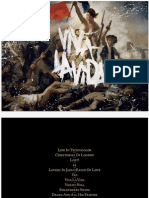 Digital Booklet - Viva La Vida or Death and All His Friends