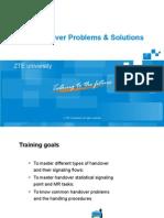 GSM Handover Problems & Solutions