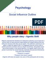 Social Influence F P