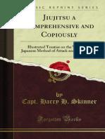 Jiujitsu a Comprehensive and Copiously
