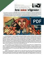 Paulo Freire y Su Pedagogia del oprimido