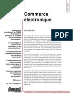 Commerce Électronique OCDE