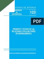Relaciones Civico Militares Hispanoamerica