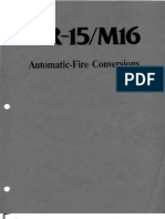 AR-15 - M16 Automatic-Fire Conversions