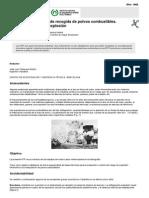 NTP 029 Instalaciones de Recogida de Polvos Combustibles. Control Del Riesgo de Explosión (PDF, 313 Kbytes)