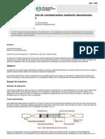 NTP 023 Toma de Muestra de Contaminantes Mediante Absorbentes Sólidos. Norma General (PDF, 230 Kbytes)