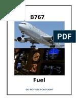 Combustible B767-300