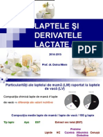 Lapte Derivate 2014-2015
