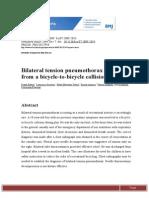 BMJ Case Rep Bilateral Tension Pneumothorax