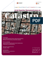 Revista Rei Catastro n1 2007