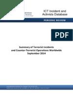 Terrorist Activities Database