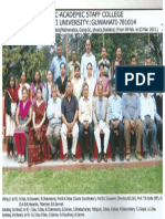 Dr.A.B.Rajib Hazarika,PhD,FRAS AES at completion of refresher course