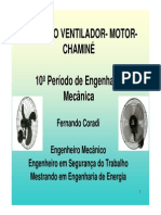 Curso Motor Ventilador Chaminé