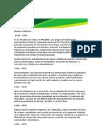 resentacion compañia Nutresa en Colombia