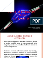 ARCUL ELECTRIC IN CURENT ALTERNATIV