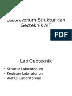 Laboratorium Struktur Dan Geoteknik AIT