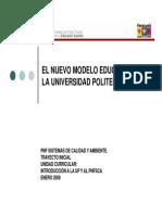 nuevo modelo educativo venezolano