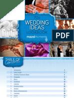 Mazelmoments Wedding Trends Report 2013