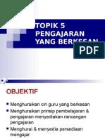 20120325210338Bab 5 Pengajaran Yang Berkesan