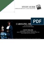 Caroline or Change Study Guide