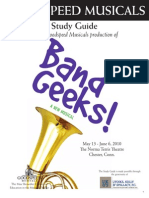 Band Geeks (Goodspeed) Study Guide