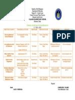 School Action Plan Mathematics