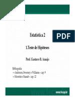 1.2 Testes de Hipótese - 3a Parte