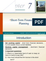 Chapter 7- Short-term Finance and Planning2