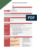 Job Description Store Associates.doc