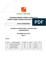 Technical Specification - Architecture