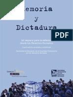 """""""Memoria y Dictadura"""" 4ta edicion"""