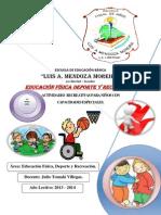Educacion Fisica Para Ninos Con Capacidades Especiales.-libre